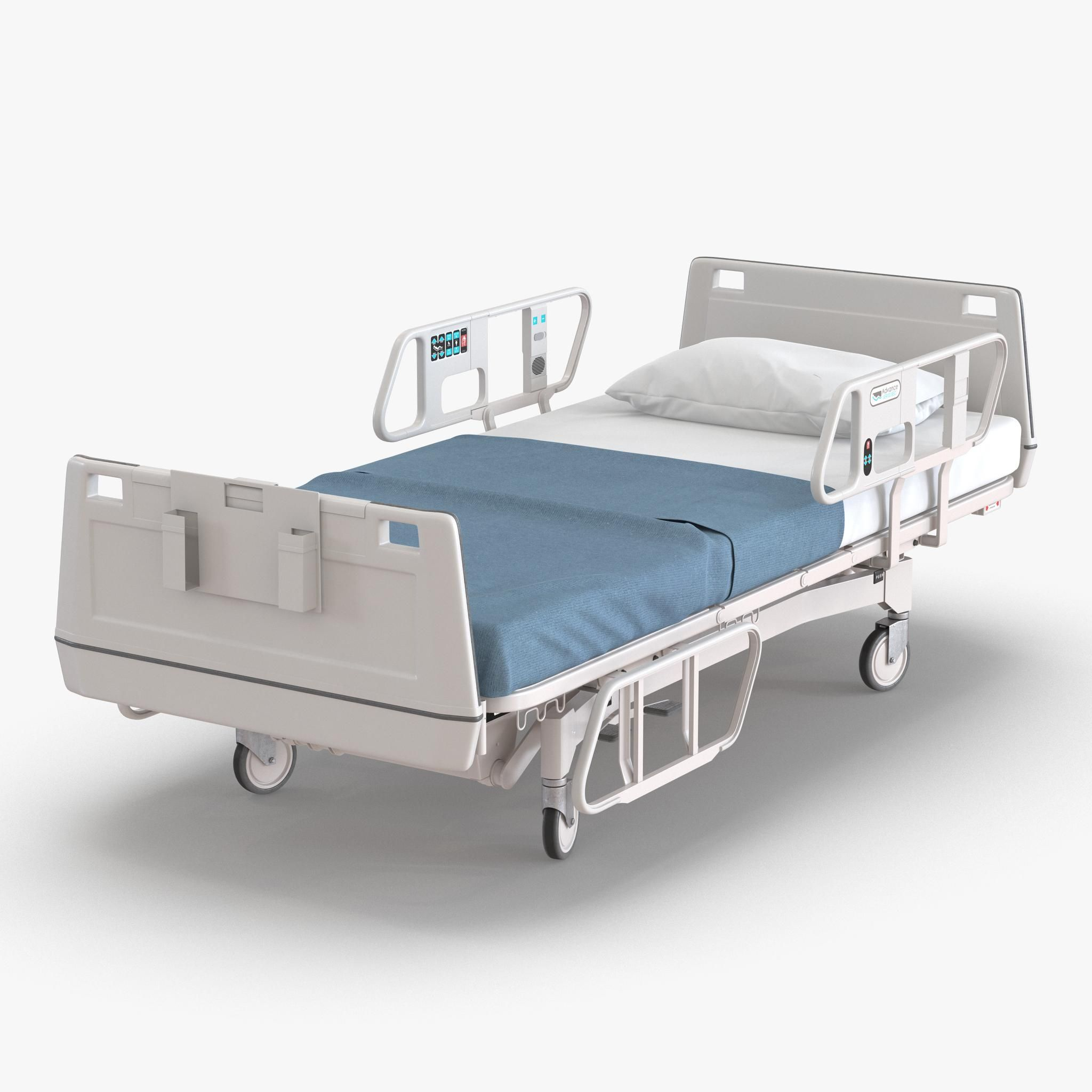 Hospital Bed 3d Model Ad Hospital Bed Model Hospital Bed Hospital Furniture Bed