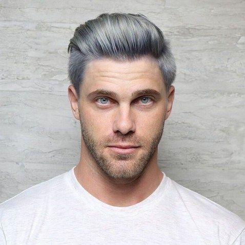39 best short men haircut looks grey  haircuts for men