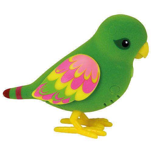 Little Live Pets Birds Single Refill Pack Green Silly Billie Tweet Sing Repeat Moosetoys Little Live Pets Plush Stuffed Animals Kids Toy Organization