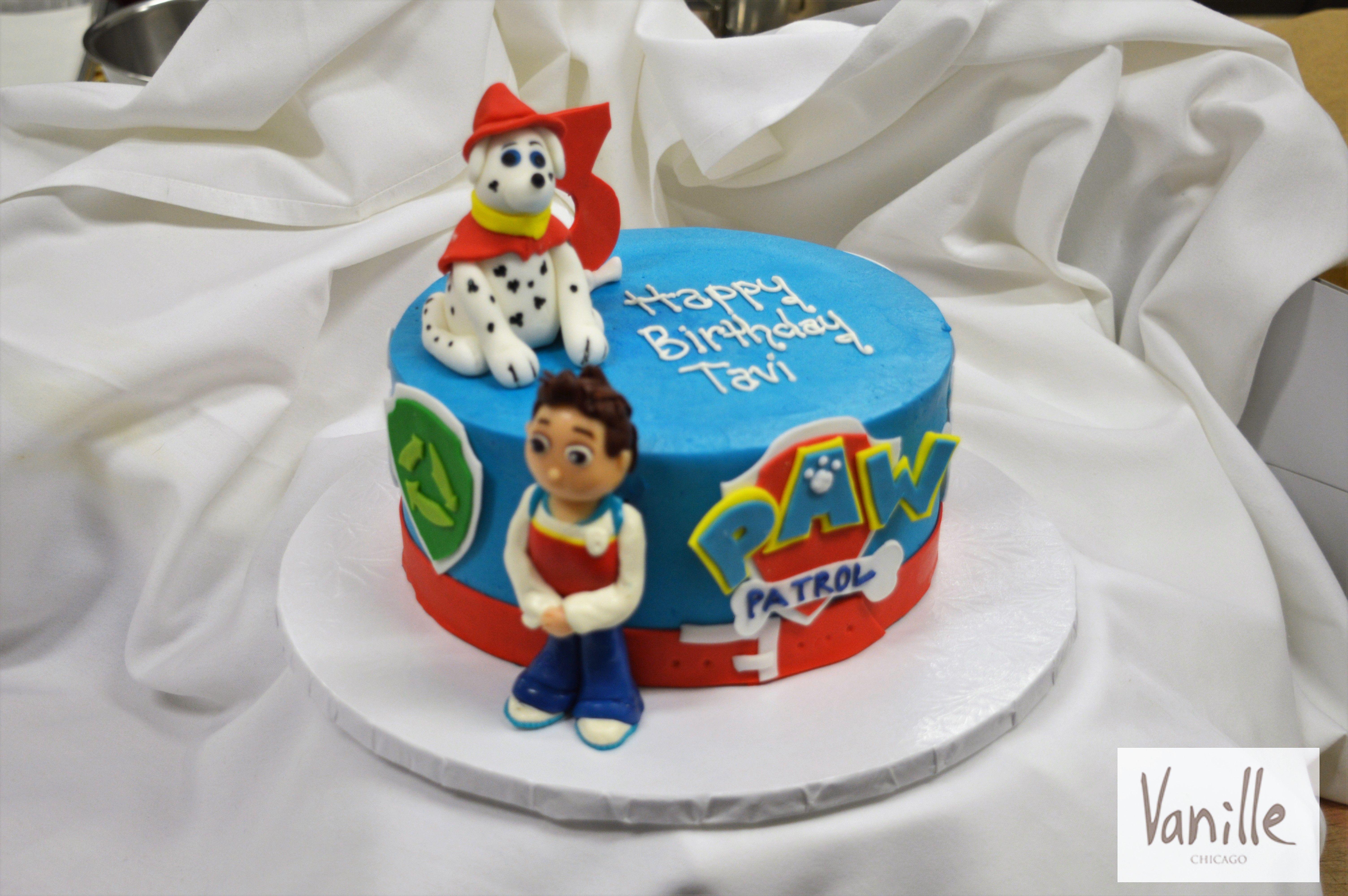 Tremendous Vanille Chicago Paw Patrol Birthday Cake Vck38 Paw Patrol Funny Birthday Cards Online Hendilapandamsfinfo