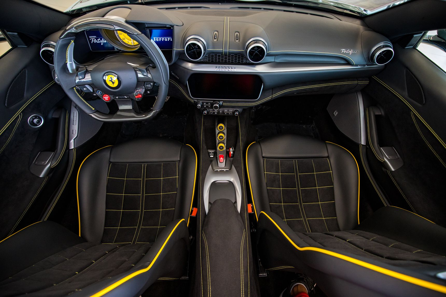Ferrari Portofino Interior Ferrari Instagram Photo