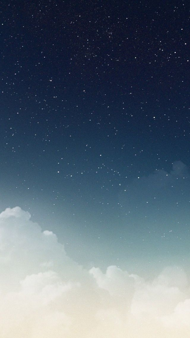 The Beauty Of The Nature Blue Sky Iphone Wallpaper