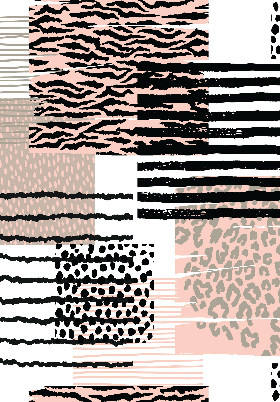 Dieren Behang Print Textuur Dierenprint Afdrukken Luipaard