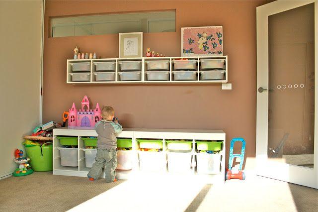 Ikea Trofast Toy Rooms Playroom Organization Ikea Trofast Storage