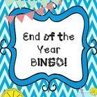 End of the Year BINGO - #Bingo #year #meettheteacherideas