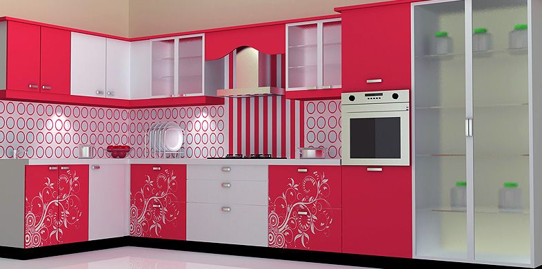 Modular kitchen feel the true power of luxury kitchen cabinets pinterest glass wardrobe Modular kitchen design colors