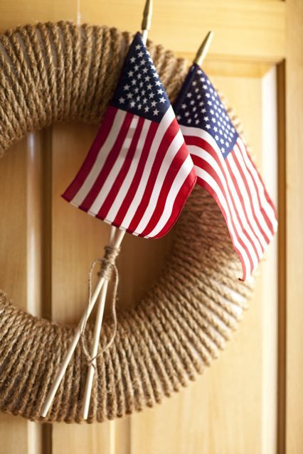 Create your own fourth of july wreath diy also best manualidades images ornaments decorating ideas rh pinterest