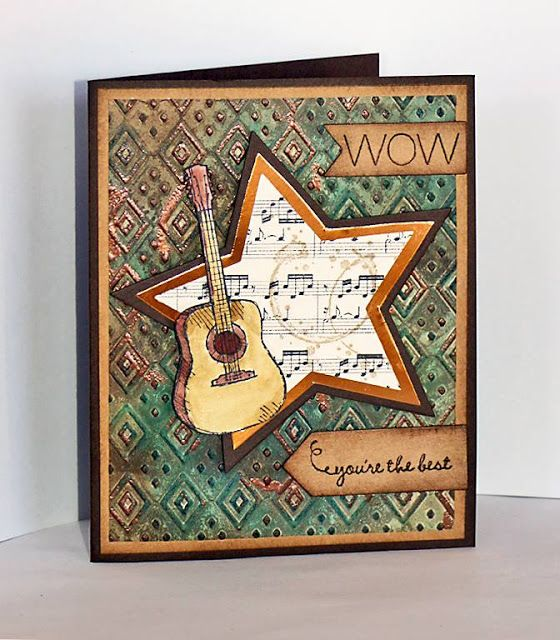Stampin Along With Heidi: WWC87 - Wow!
