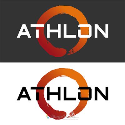 Amd Athlon Logo Vector In 2021 Vector Logo Athlon Logos