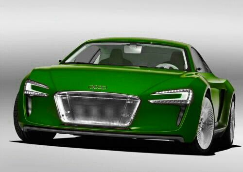 Audi E-tron and E-tron spyder