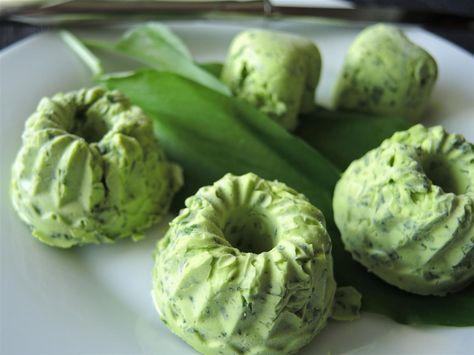Fruhlingsfrische Barlauchbutter Chilirosen Barlauchbutter Rezepte Lebensmittel Essen