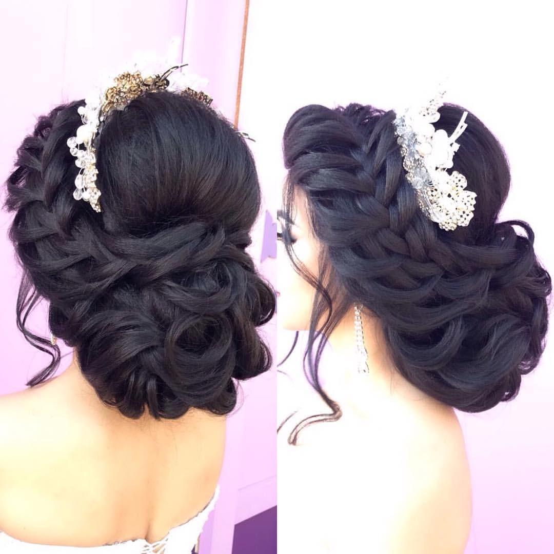 Sabahiniz Xeyir Gununuz Ugurlu Olsun Sac Yigimi Mene Aiddir Quince Hairstyles Long Hair Styles Wedding Hair Inspiration