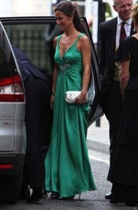 Pippa Middleton Emerald Green Bridesmaid Dress idea