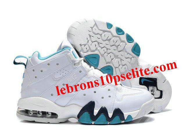 New Nike Air Max2 CB 94 White/Jade - Charles Barkley Shoes