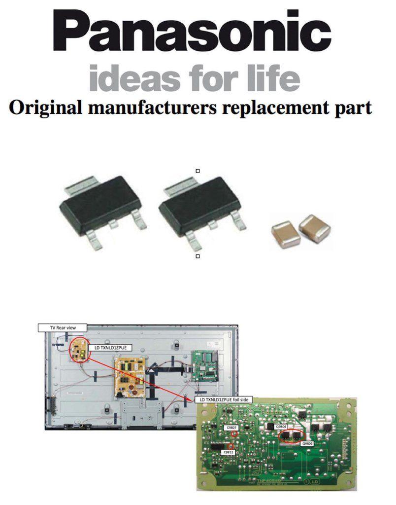 Panasonic Txl50b6b Txl50b6e Repair Kit Tnp4g549 Tzs9ek098 Free Schematic Diagram Thermostat Circuit Using Lm358