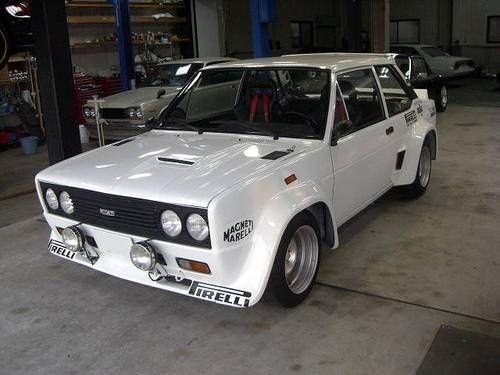 1976 Fiat 131 Abarth Rally Maintenance Restoration Of Old Vintage