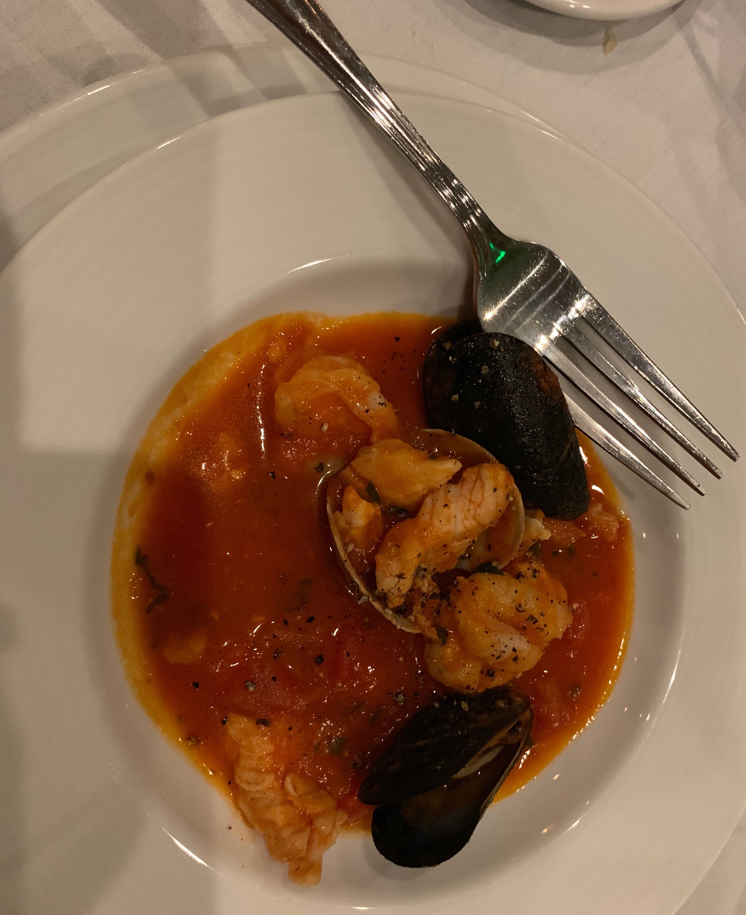 A Cioppino Appetizer From Sardinia Restaurant In Sarasota
