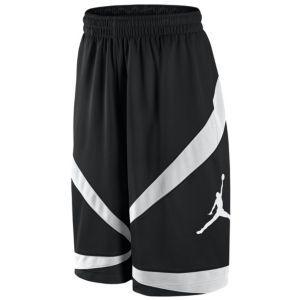 baf8552629ac Jordan Triangle Triumph Short - Men s - Basketball - Clothing - Black White