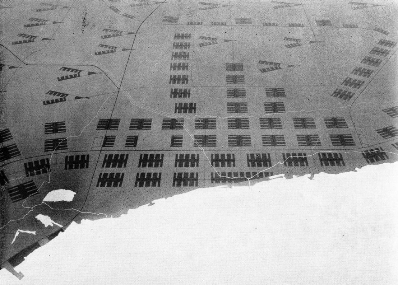 Ludwig Hilberseimer Proposal For Re Planned Chicago View From Lake Michigan Urban Design Plan Interior Design Jobs New City