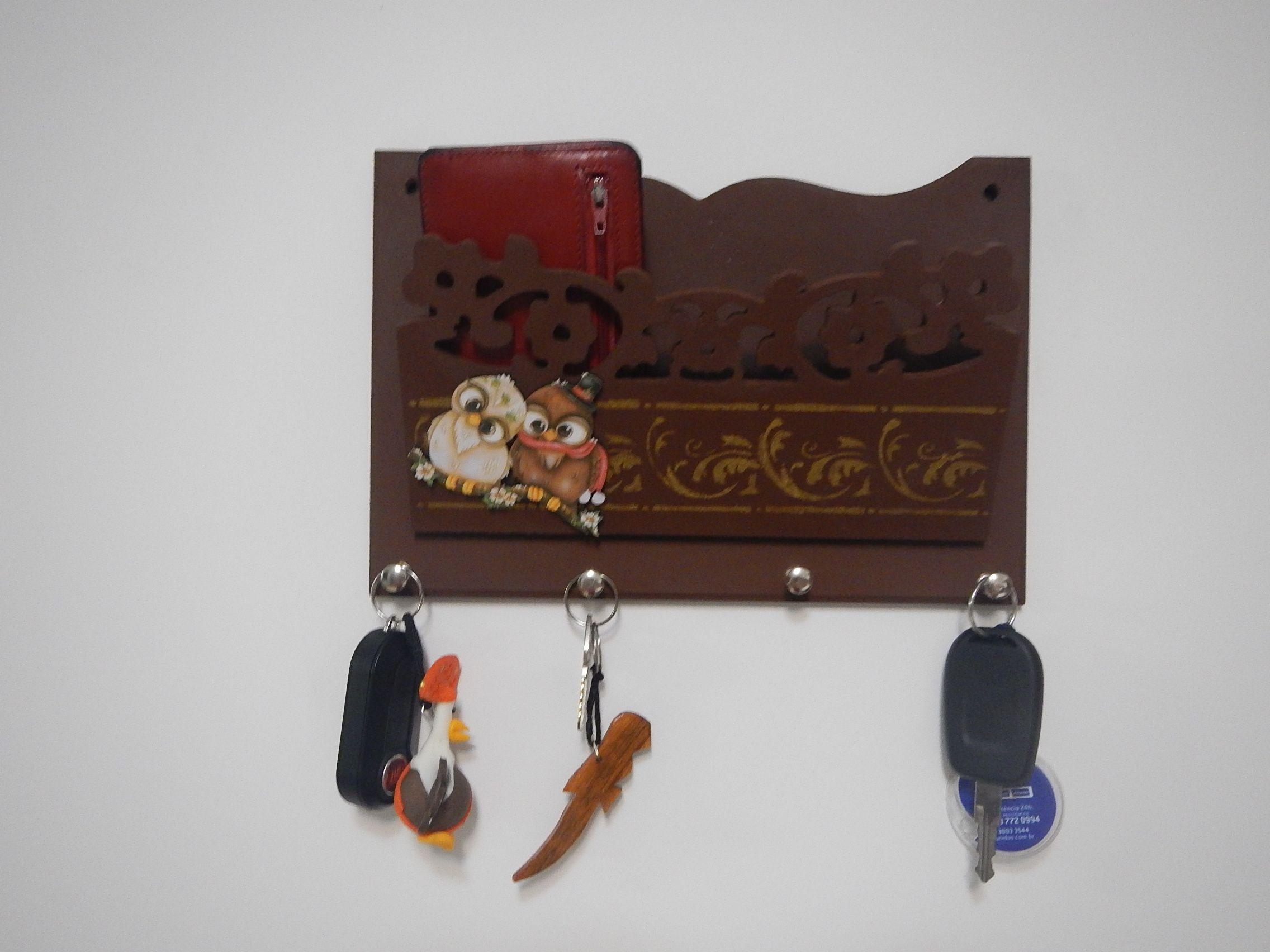 Porta chave / coruja