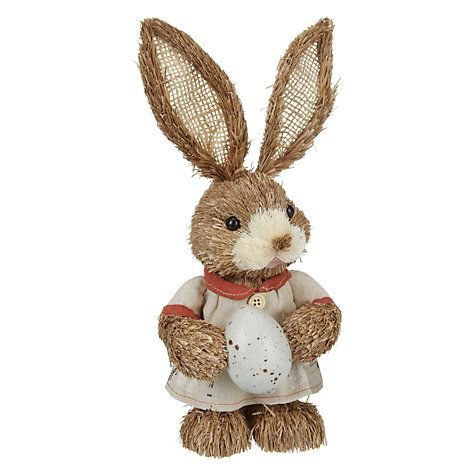 Buy John Lewis Rabbit with Egg, Small Online at johnlewis.com