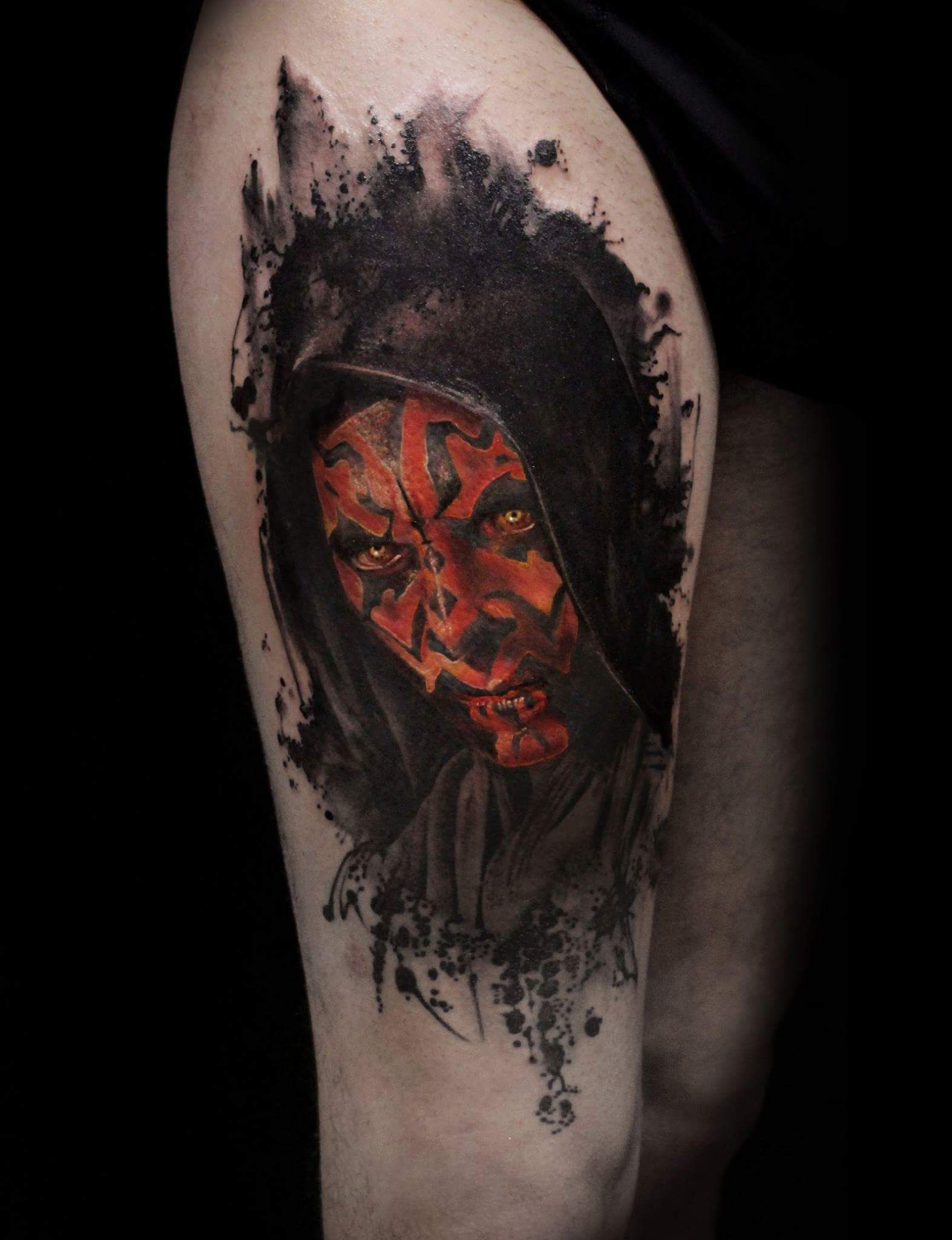 darth maul mirco is dead cioni tattoos