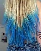 Afbeeldingsresultaat Voor Strawberry Blonde Hair Blue Dip Dye Ombre Blonde Dip Dye Hair Dye Tips Dip Dye Hair