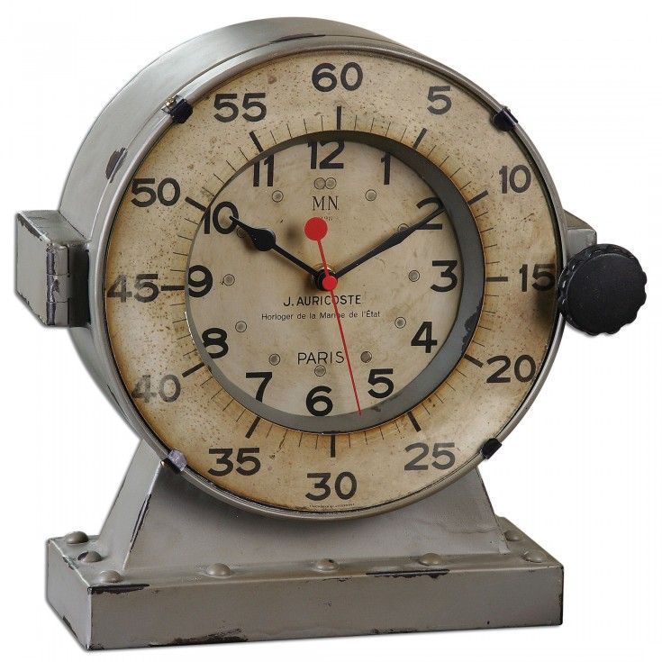 Marine Table Clocks