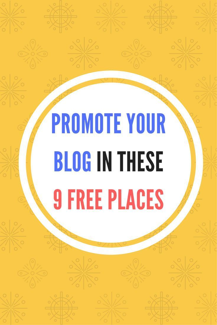 Scrittura Creativa Blog Promote Your Blog In These 9 Free Places To Increase Traffic
