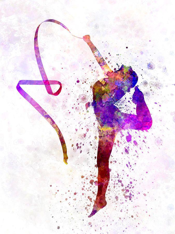 Rhythmic Gymnastics By Pablo Romero Rhythmic Gymnastics Gymnastics Backgrounds Gymnastics Wallpaper