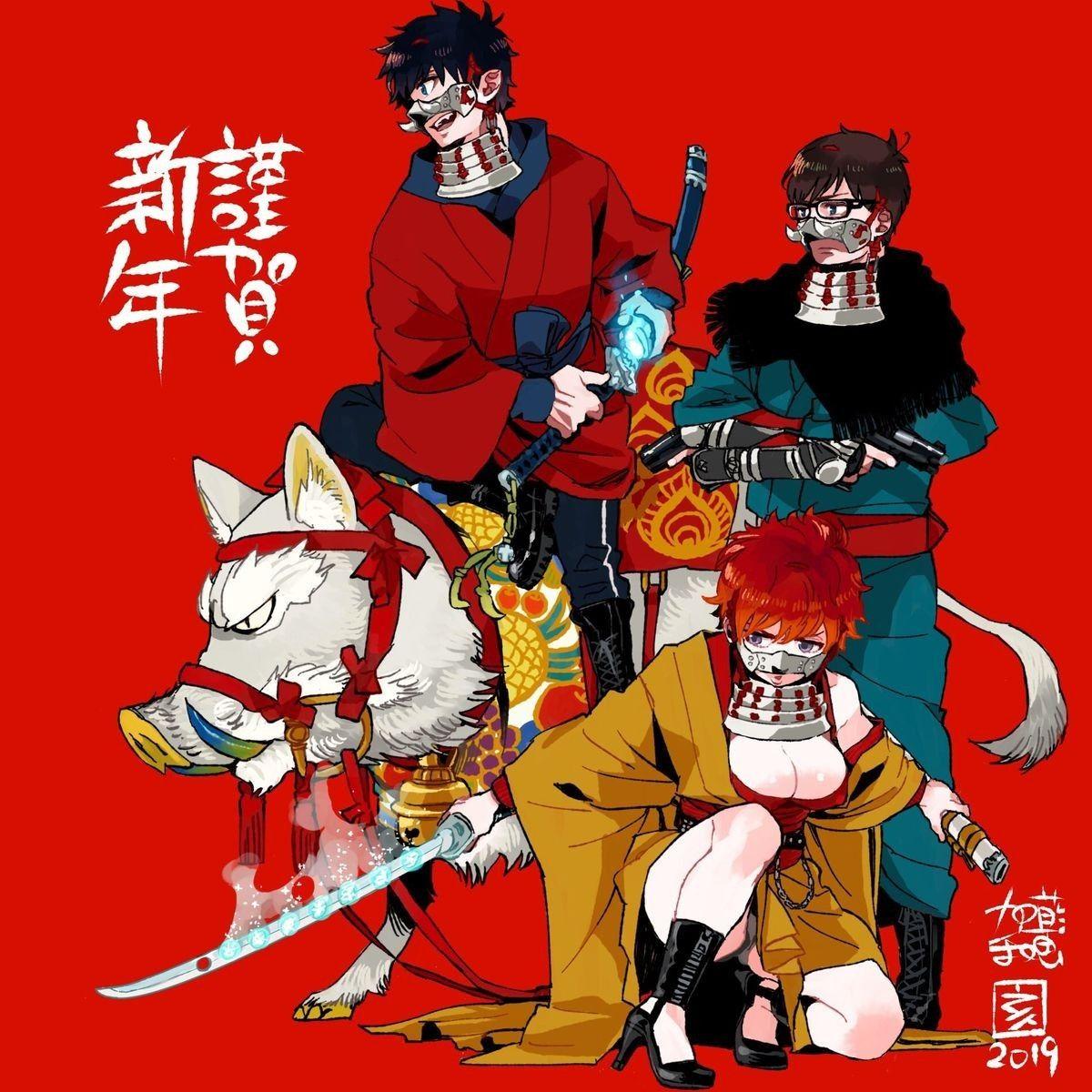 New Year 2019 !!! Anime manga, Arte de anime y Anime