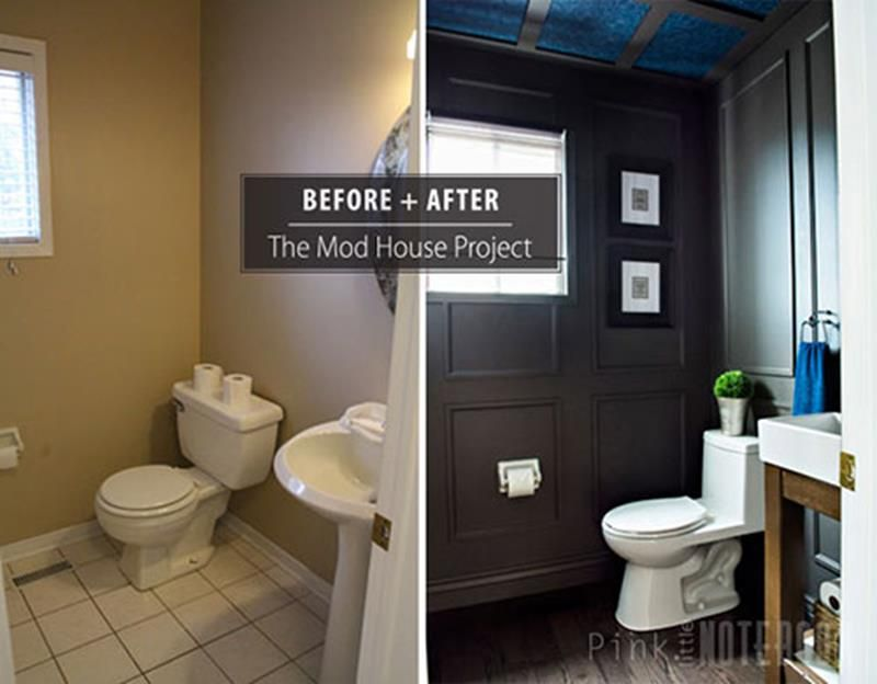 24 Pictures Of Before And After Bathrooms With Cost Diy Bathroom Remodel Bathroom Remodel Cost Bathroom Design