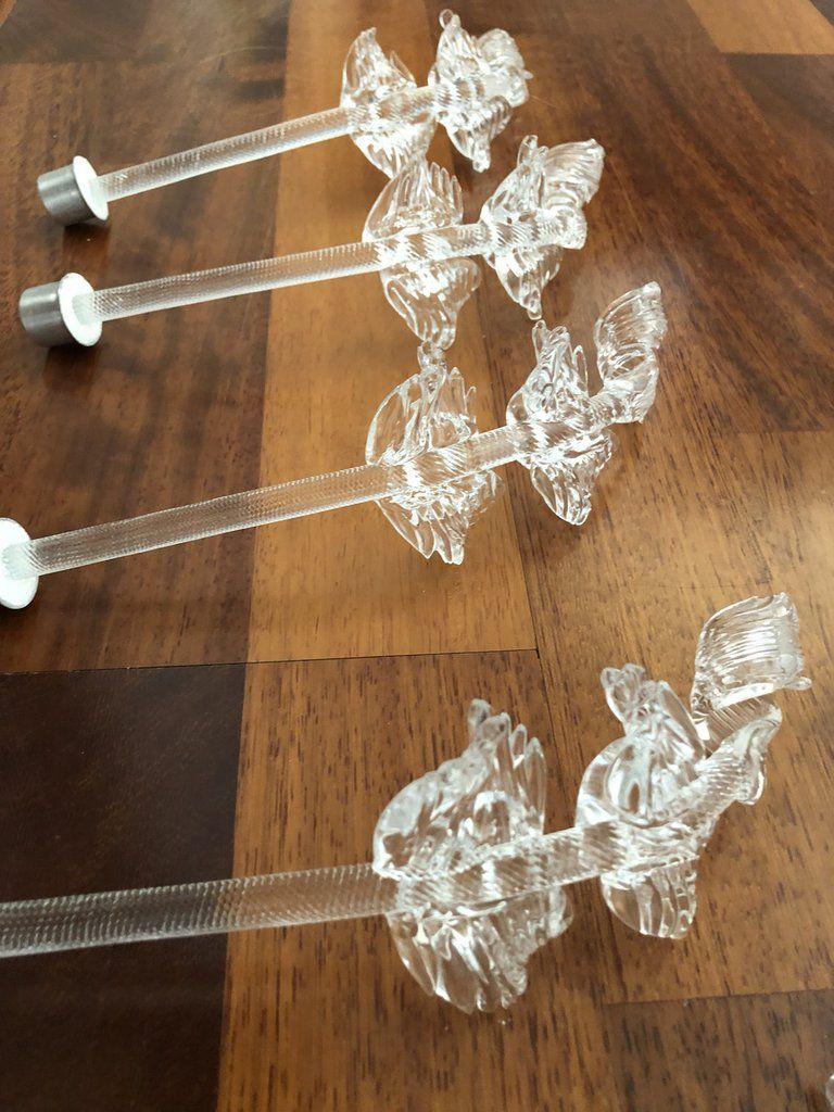 Lampadari Di Murano Ricambi.Foglie Ricambi Per Lampadari Di In Vetro Soffiato Di Murano