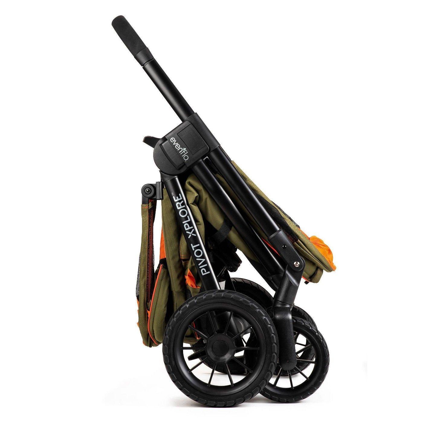 Evenflo Pivot Xplore AllTerrain Double Stroller Wagon in