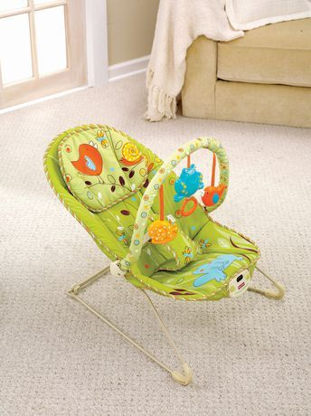 FisherPrice Comfy Time Bouncer available from Walmart