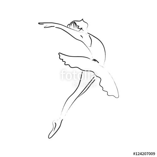 Line Drawing Dancer : Image result for dance line drawing in