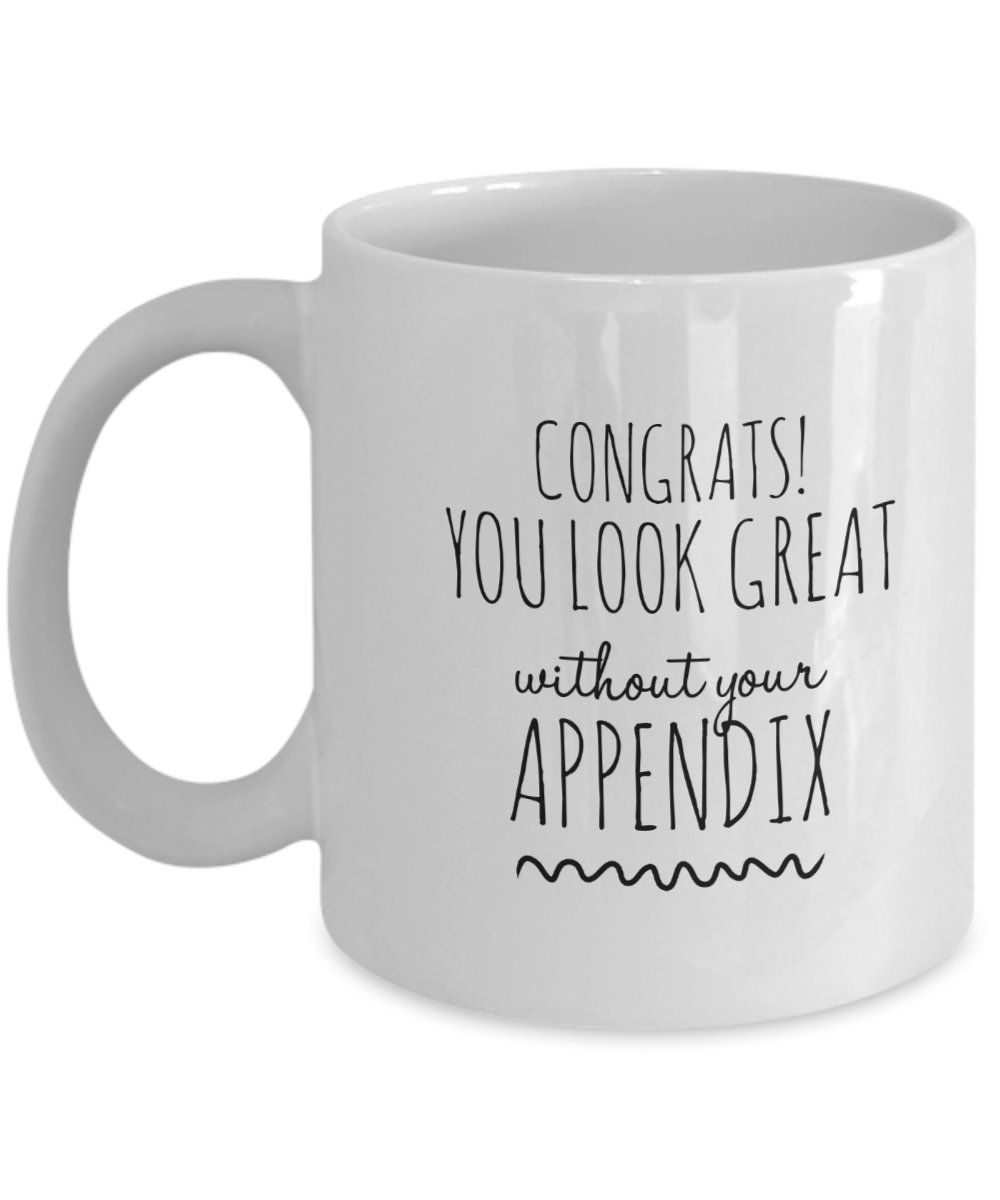 Post Surgery Gift For Appendix Op Get Well Soon Best Friend Gift Recovery Mugs Funny Sarca Sarcastic Humor Funny Quotes For Instagram Funny Quotes For Kids