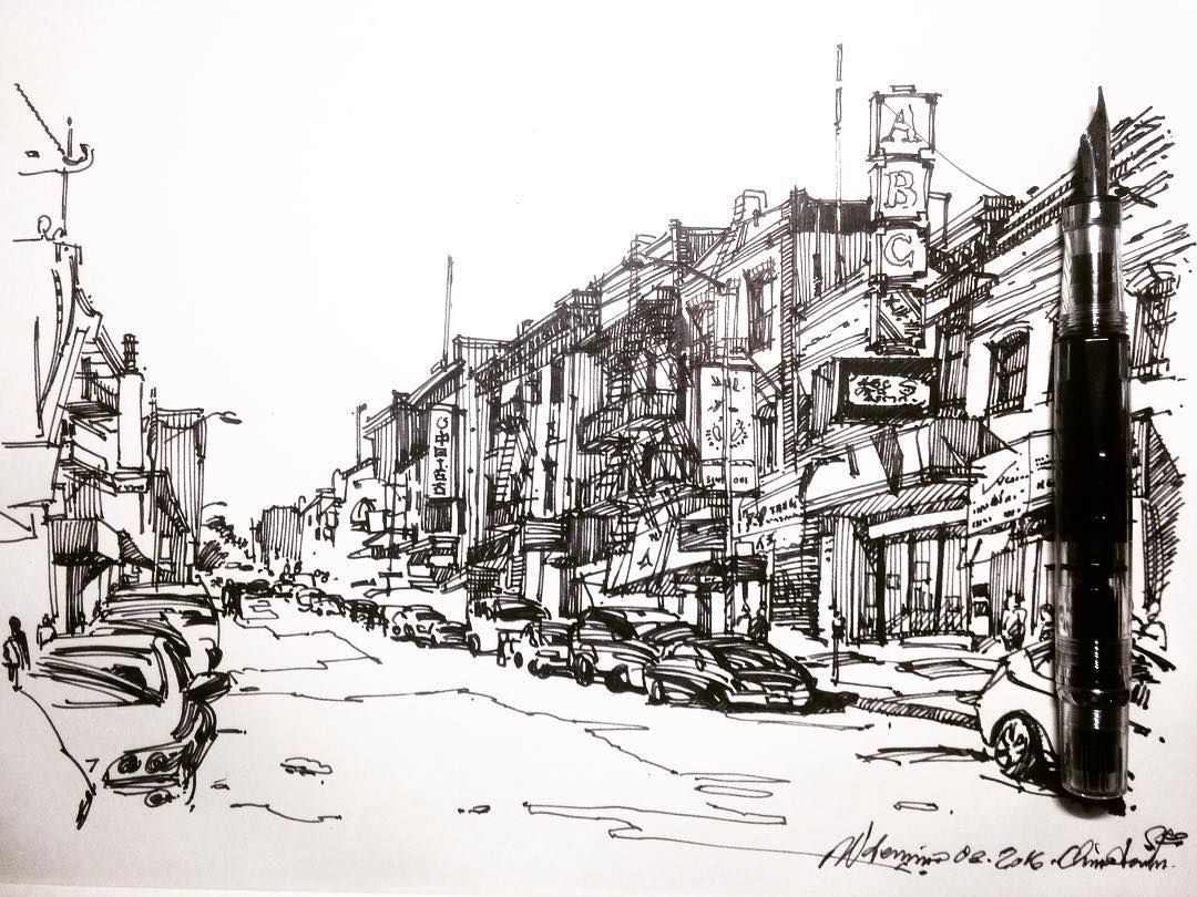 Chinatown sketch ... #sanfrancisco #sketch #sf #drawing # ...