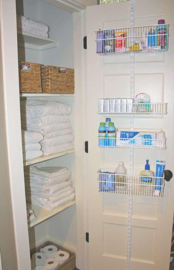 Rangement pour les articles de salle de bain