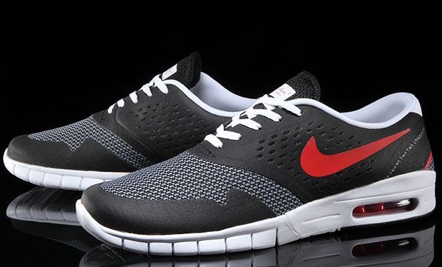 alcohol Controlar Analista  NIKE SB KOSTON 2 MAX BLACK -COOL GREY -UNIVERSITY RED The Nike SB Eric  Koston 2 Max is back again for all of your off-the-skateboa… | Shoe  releases, Max black, Nike