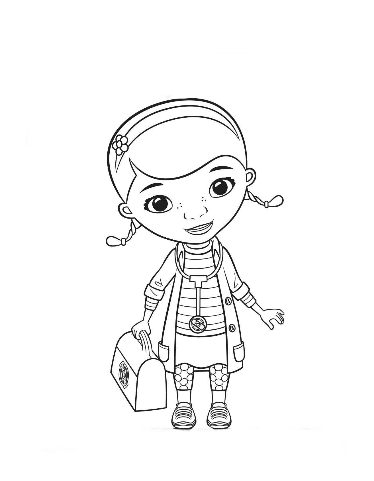 Pin Do A Mariana Matias Em Desenhos Para Pintar: Doutora Brinquedos Desenho Para Colorir