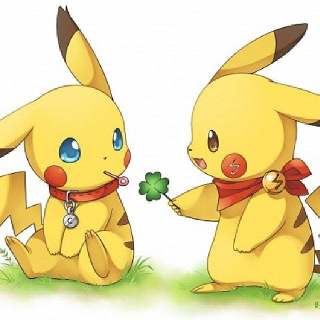 Anime Pokemon Pikachu Pika Pikaka Kawaii Cute Yellow