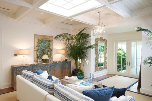 Wohnzimmer Palme ~ Ein tropisches ambiente mit kentia palmen wohnideen wohnideen