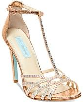 Blue by Betsey Johnson Ruby Evening Sandals