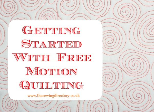 Beginners Guide To Free Motion Quilting Sewing Pinterest Free