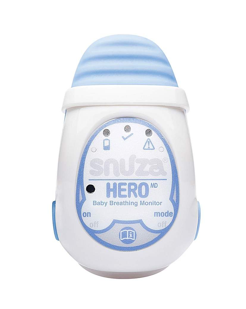 Medically Certified Portable Baby Breathing Monitor Snuza Hero MD