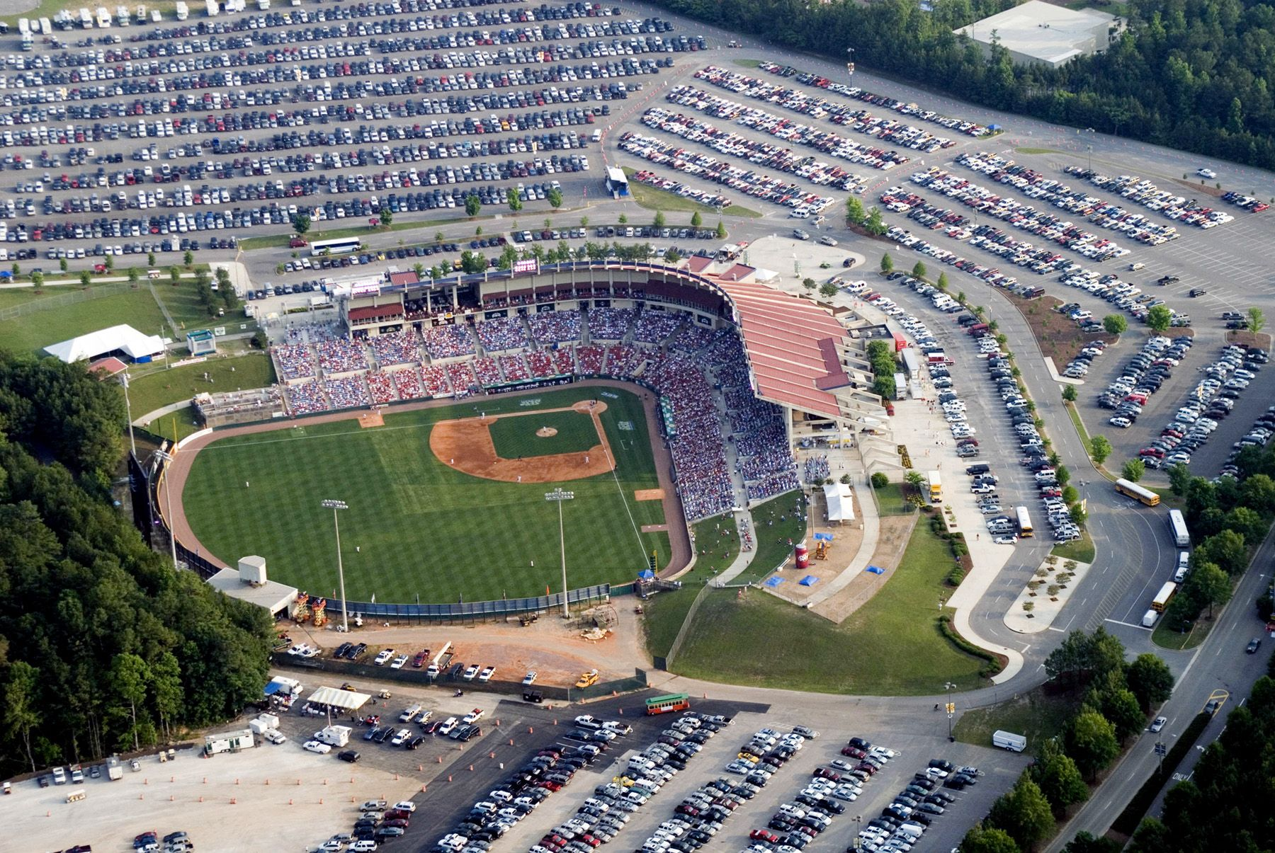 Sewell thomas stadium at the university of alabama being remodeled aerial photography alabama pinterest alabama