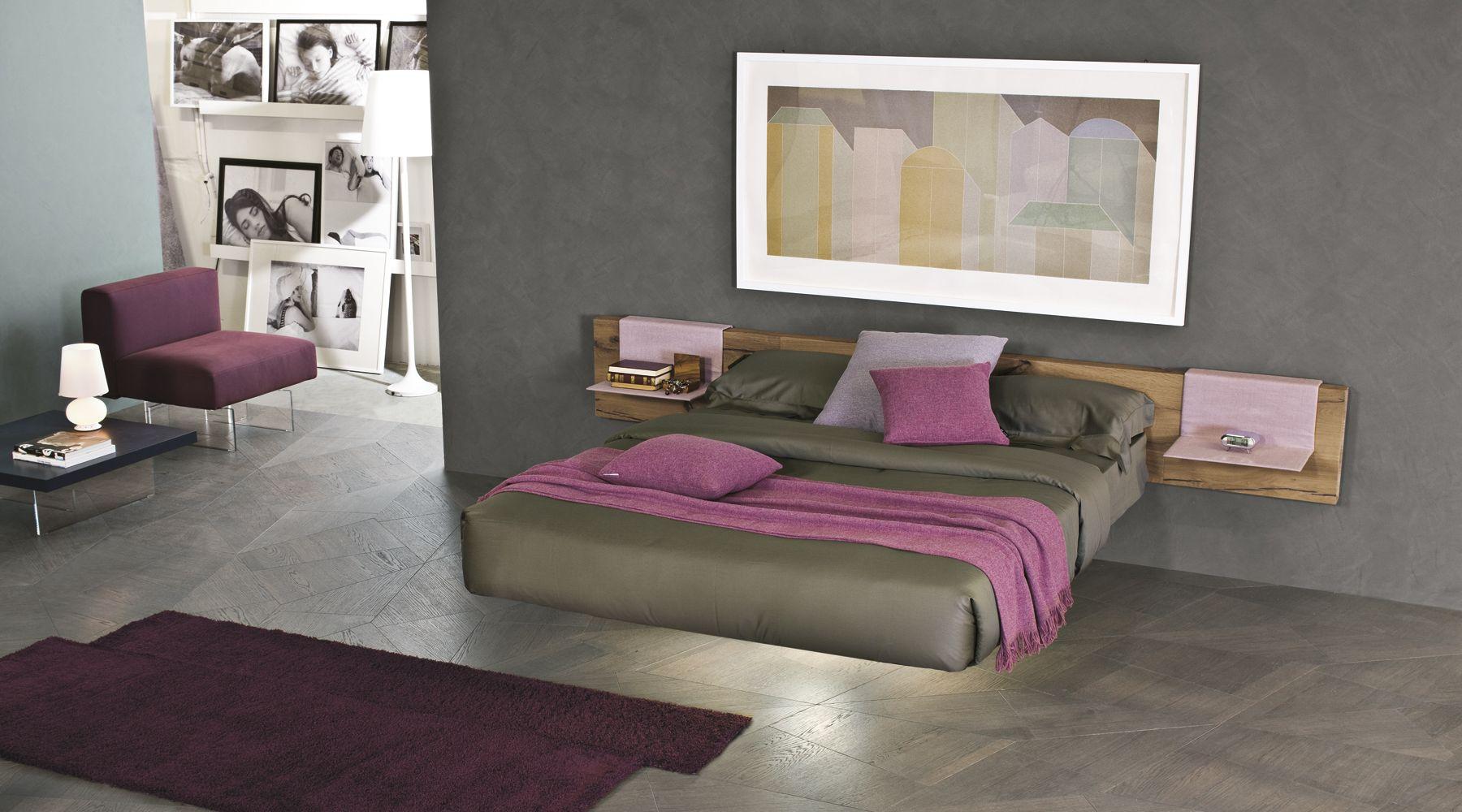 Fluttua un letto sospeso su una gamba sola rettangolare o circolare porta la magia in camera - Letto circolare ...