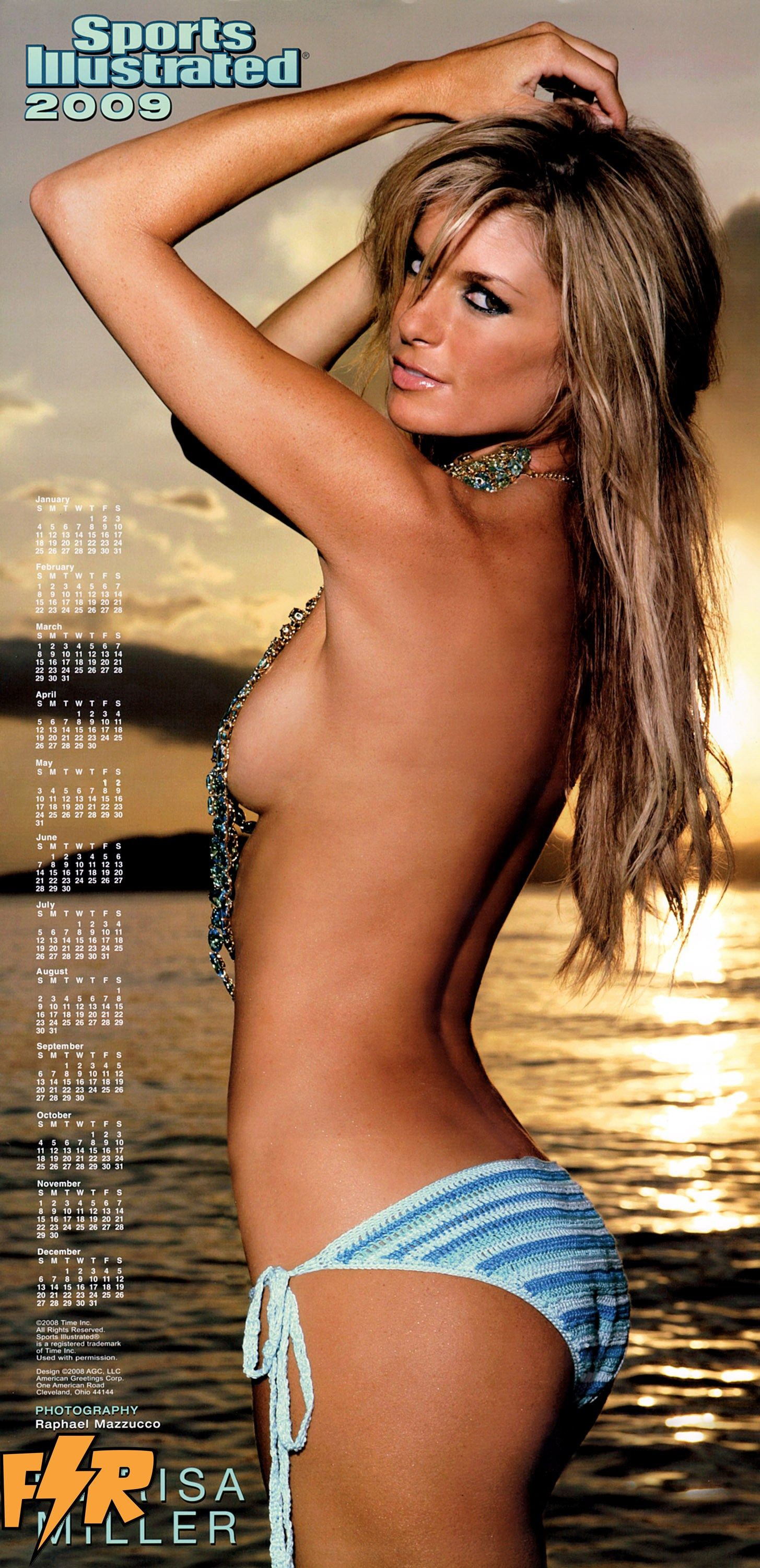 ethnic model bikini calendar 2009