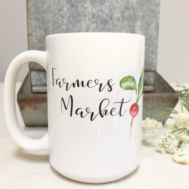 NEW Farmers Market Mug! A FarmhouseMaven original design